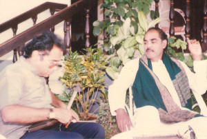 Interviewing D Ramanaidu