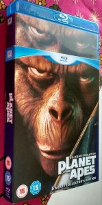 Planet of the apes 5 Movie Collection